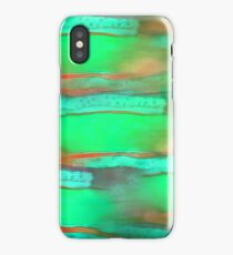 Abstract green. iPhone Case