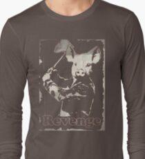 Revenge vegetarian, vegan shirt Long Sleeve T-Shirt
