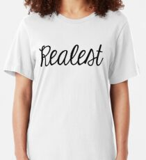 Realest. Slim Fit T-Shirt