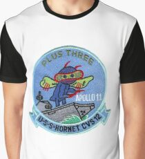 CVS-12 USS Hornet Apollo 11 Recovery Patch 2 Graphic T-Shirt