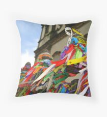 The African Soul of Brazil Throw Pillow