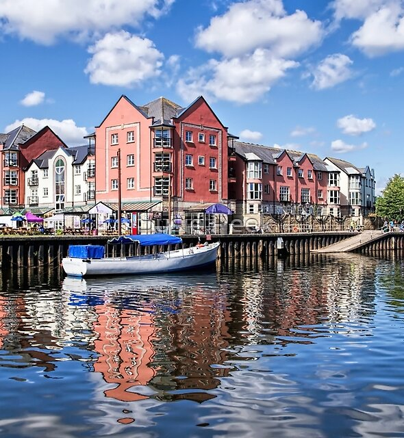 Exeter Quays by Susie Peek