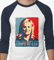 Knope We Can 2012 Men's Baseball ¾ T-Shirt