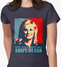 Knope We Can 2012 Women's Fitted T-Shirt