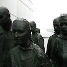 Bronze in the rain by steveschwarz