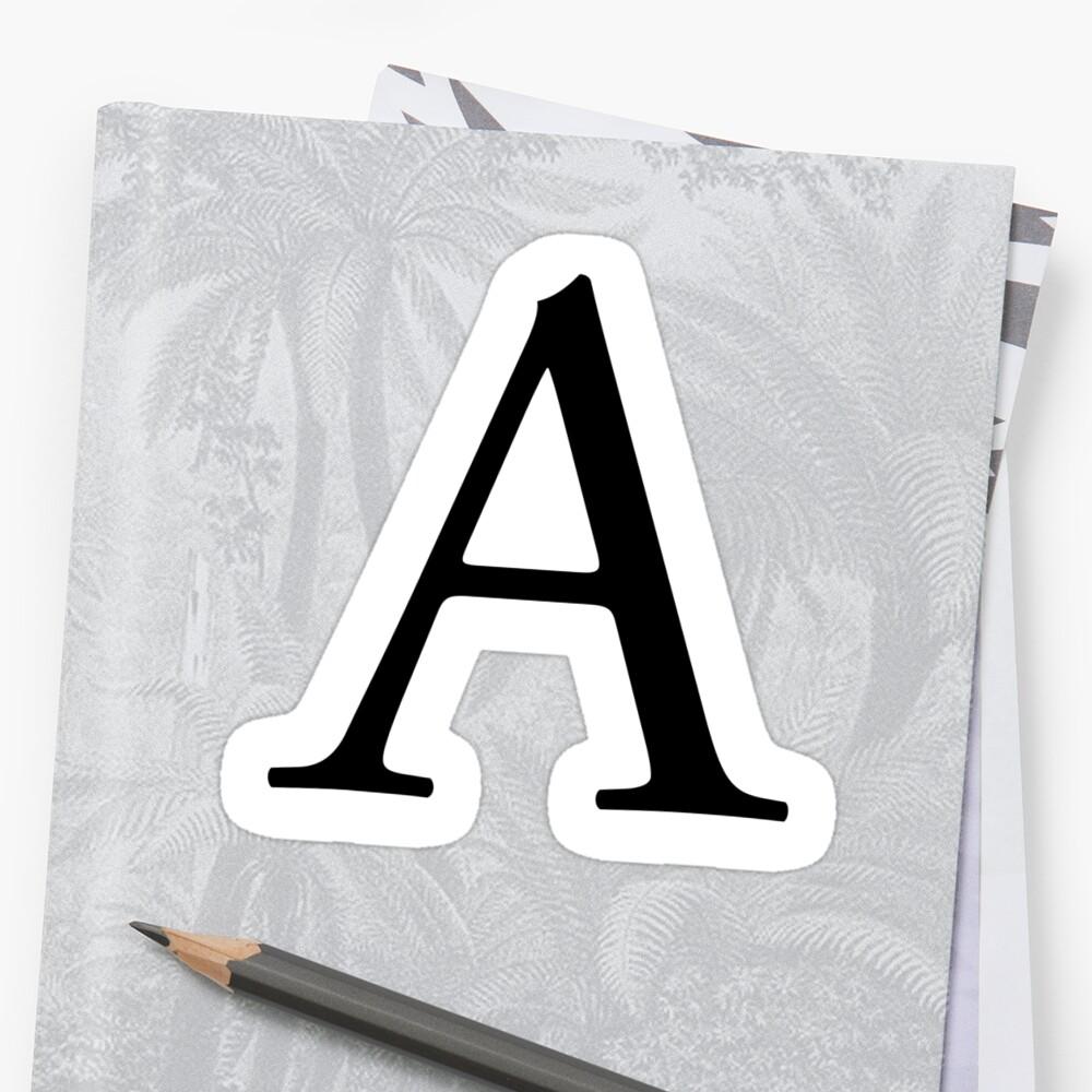 """A Alphabet Letter """"A, Alphabet, Let..."""