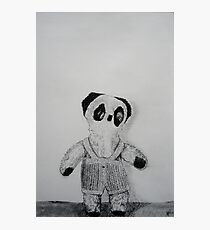 Knitted Overalls Photographic Print