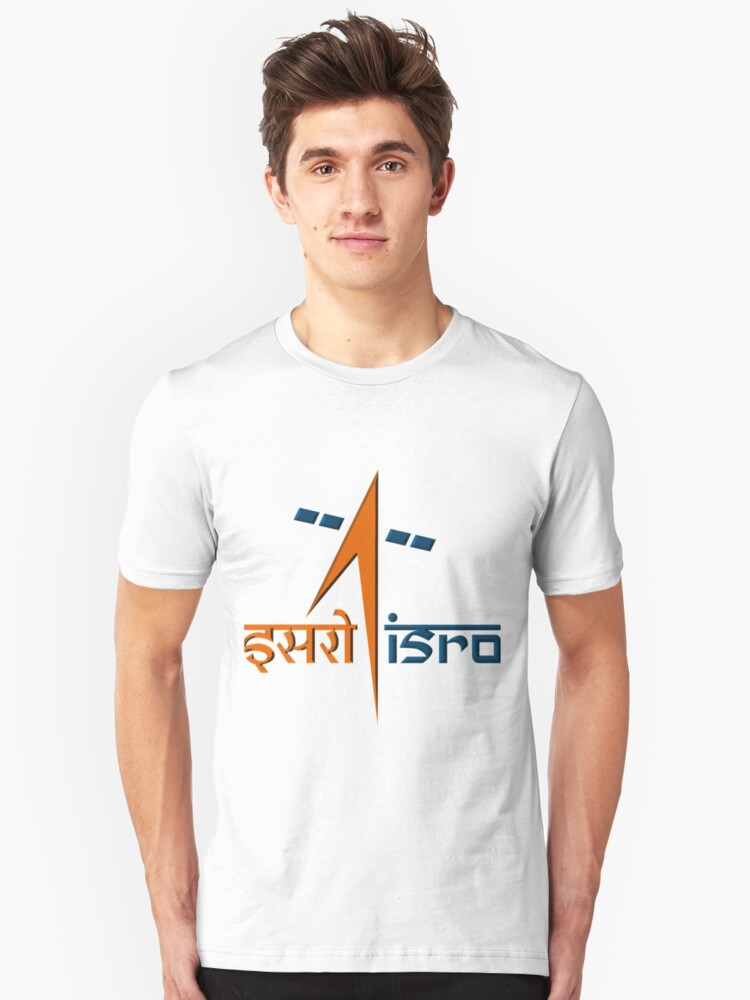 Indian Space Research Organization (ISRO) Logo Unisex T-Shirt Front