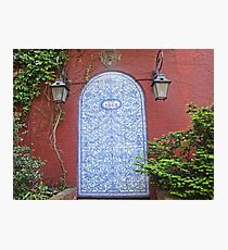 Door in Greenwich Village, NYC Photographic Print