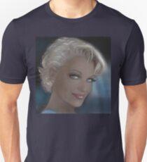 Blue Eyes Blond Sad T-Shirt