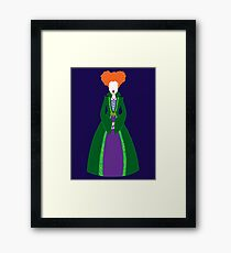 Hocus Pocus - Winnie Sanderson Framed Print