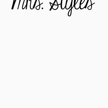 Mrs. Styles by namedChelsea