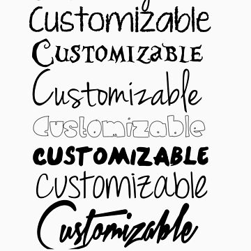 Customized Design. by namedChelsea