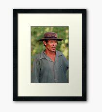Where Hats Travel Framed Print
