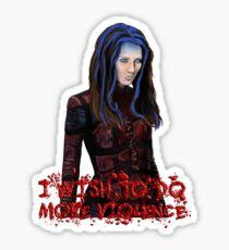 Angel - Illyria  Sticker