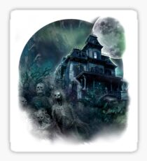 The Haunted House Paranormal Sticker