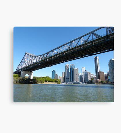 Brisbane & the Story Bridge Canvas Print