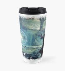 *Silver*Doe* BIG - Winterly Magical Edit Travel Mug