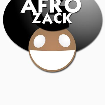 Afro zack by chaosblare