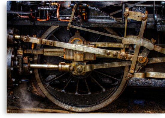 Railroad Wheel by Gert Lavsen