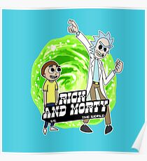 Rick and Morty vs The World Poster