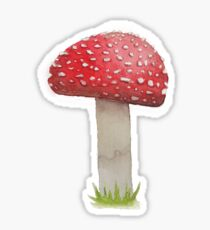 Fluffy Shroom One Sticker