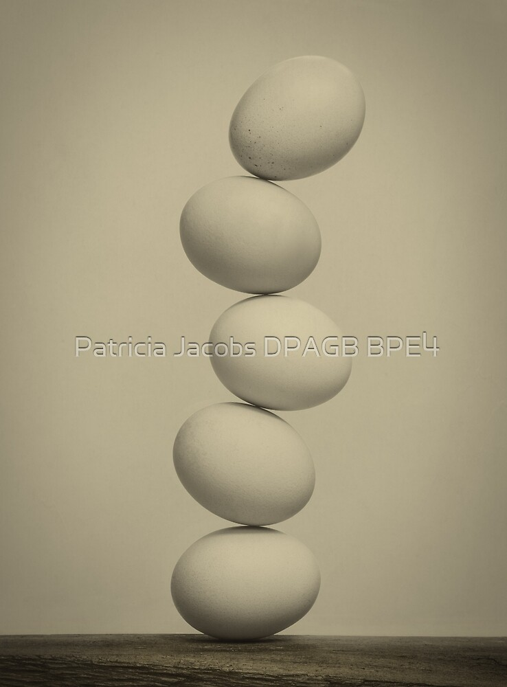 Balancing Eggs by Patricia Jacobs DPAGB BPE4
