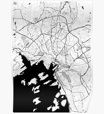 Oslo OpenStreetMap Poster Poster
