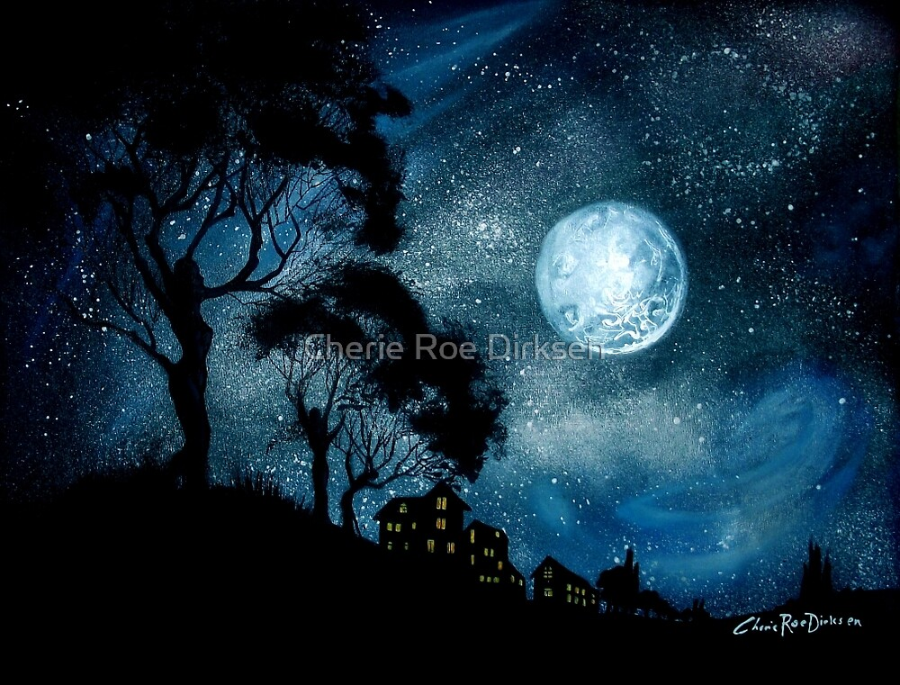 Moonage Daydream by Cherie Roe Dirksen