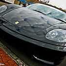 Black Ferrari by David  Preston