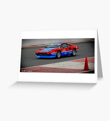 The Car of Speed Greeting Card