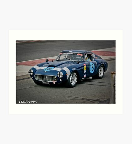 The FAST AND NOISY  Art Print