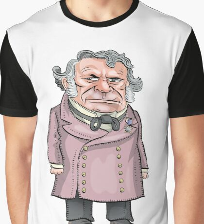 President Zachary Taylor Graphic T-Shirt