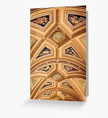 Portico Ceiling - Vienna Opera House Greeting Card