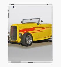 1932 Ford 'Flame Game' Roadster iPad Case/Skin