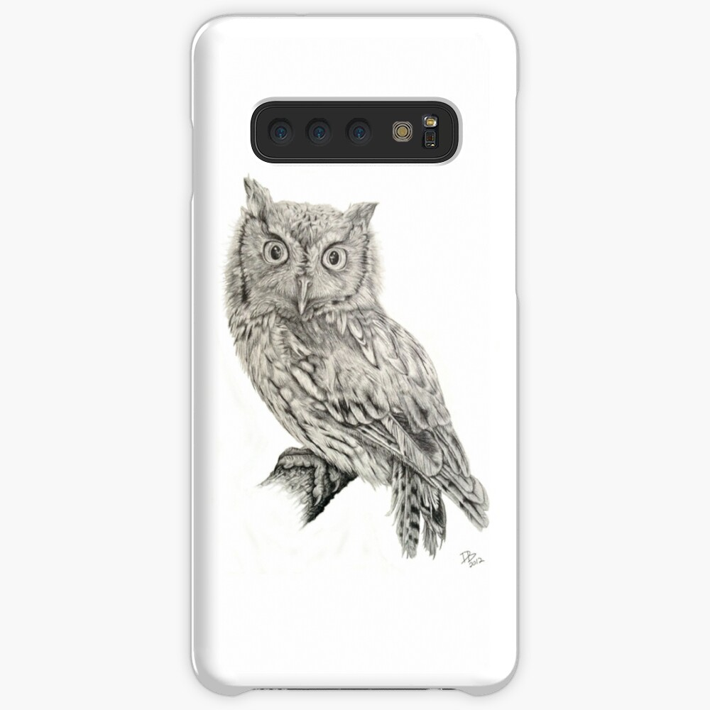 Eastern Screech Owl (Megascops asio), 2012, Pencil Samsung Galaxy Snap Case