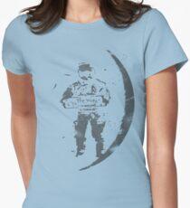 worn away Women's Fitted T-Shirt
