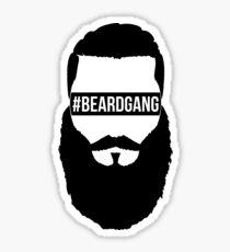 #BeardGang Full Beard Sticker