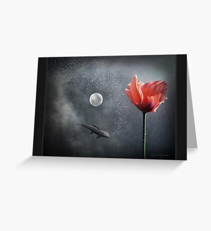 Numinous Reflection  Greeting Card