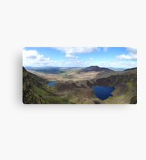 The Comeragh Mountains in Waterford County, Ireland Canvas Print