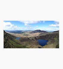 The Comeragh Mountains in Waterford County, Ireland Photographic Print