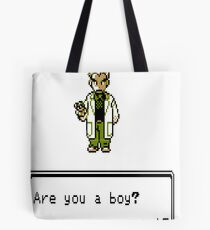 Are You a Boy or a Girl? Tote Bag