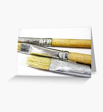 Paint Brushes 1 Greeting Card