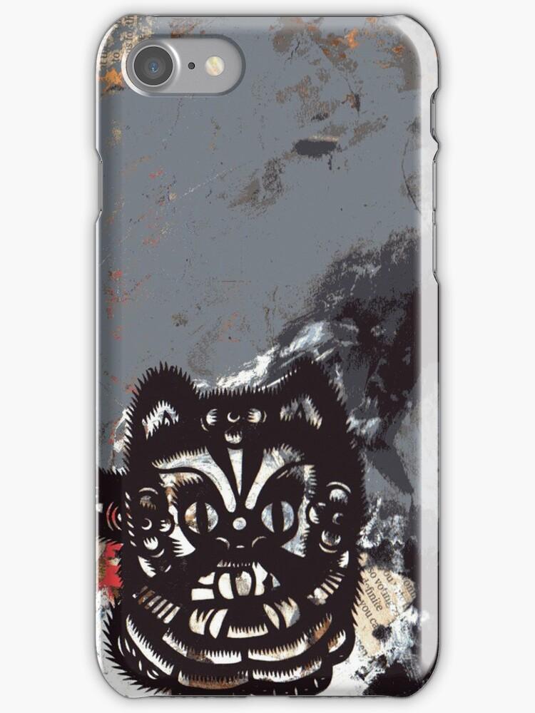 BlackCat iPhone Case by zoe trap