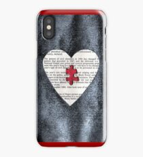 BlackHearted iPhone Case iPhone Case