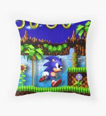 Sonic Hedgehog, Gotta Go Fast! Throw Pillow