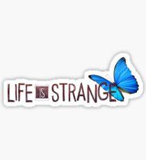 Life is Strange Butterfly Logo Sticker