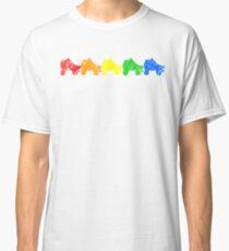 rainbow skates Classic T-Shirt