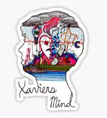 Xavier's Mind Sticker