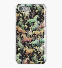 Ninjas+Unicorns iPhone Case/Skin